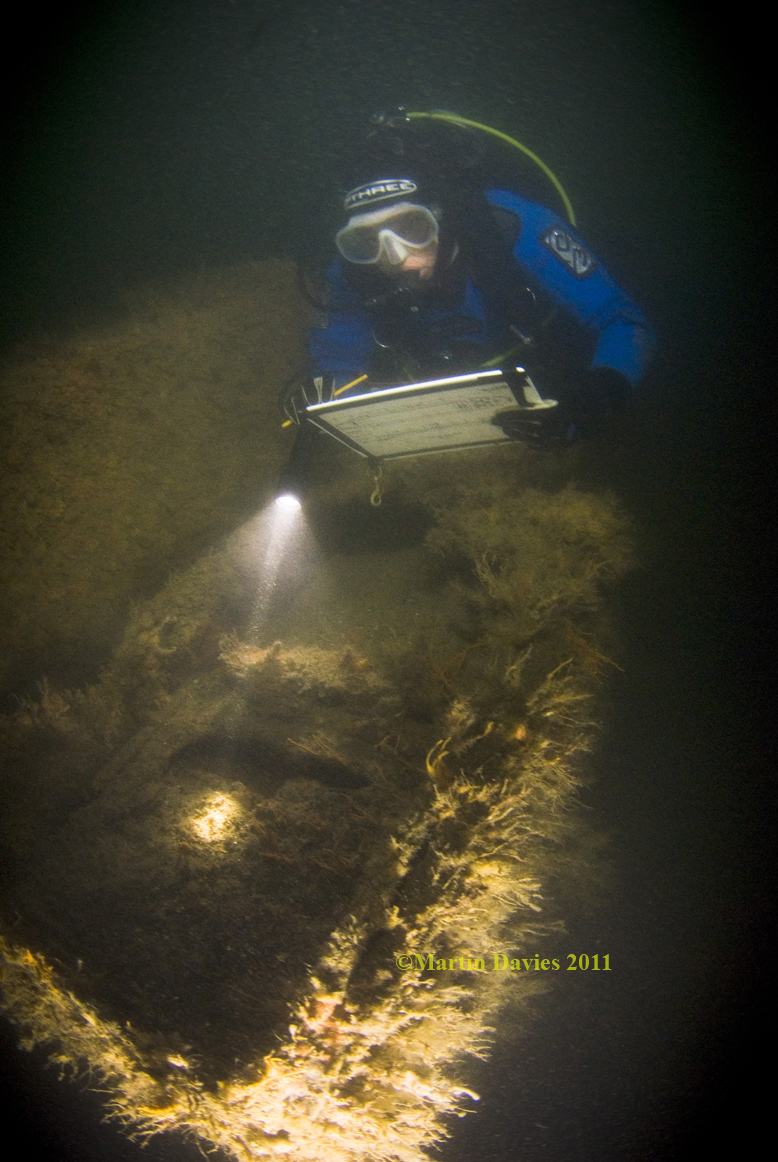 Images from Landing craft wreck, LCT427, Solent Area, SSAC project 2011