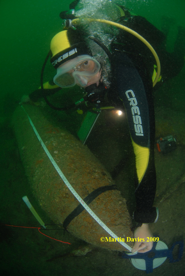 Images from Neptune Wrecks Project August 2009 by Southsea Sub Aqua Club - Diving into History