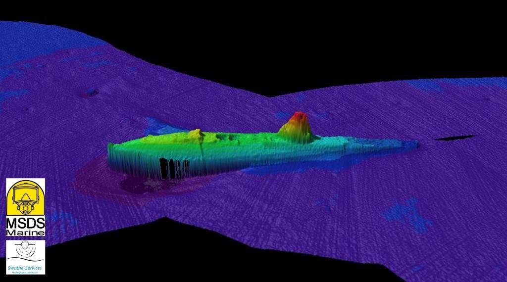 HMS A1 sub multibeam 2014_Swathe MSDS Marine