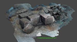 Stone barge Site 1 Model